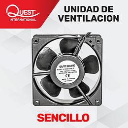 Kit de Ventilación Sencillo para Gabinetes