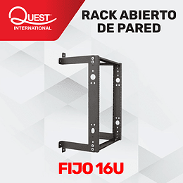 Rack de Pared Abierto de 16U
