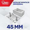 Cajas de Montaje Universal 45mm