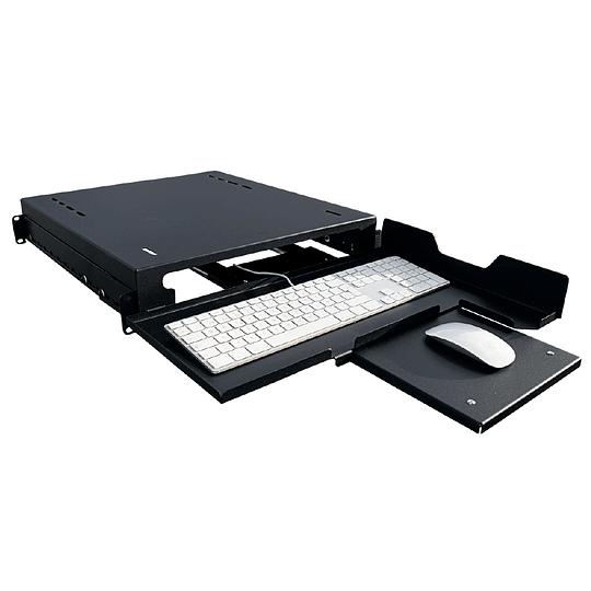 Bandeja Fija para Teclado, Mouse y Monitor