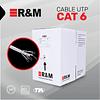 Cable UTP Categoría 6 Carrete 305 metros