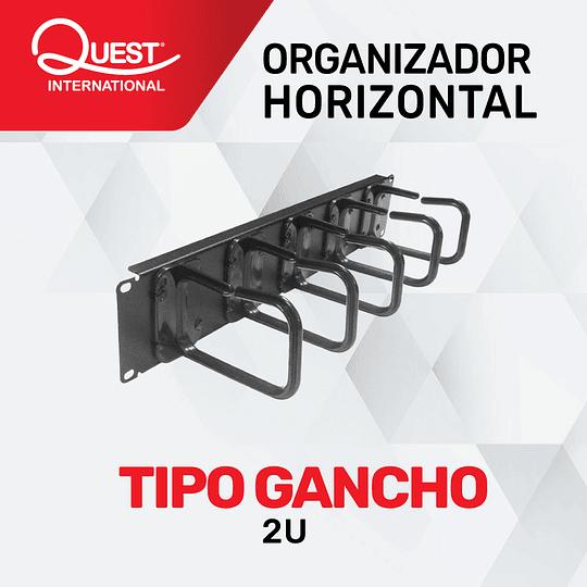 Organizador Horizontal de Ganchos 2U