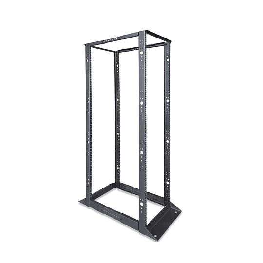 Rack abierto de 4 Parales en formato de 19
