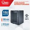 Gabinetes de Piso 15U   Ancho: 580 mm • Fondo: 810 mm