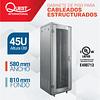 Gabinetes de Piso 45U | Ancho: 580 mm • Fondo: 810 mm