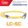 Patch Cords Simplex  Monomodo 9/125 LC-SC