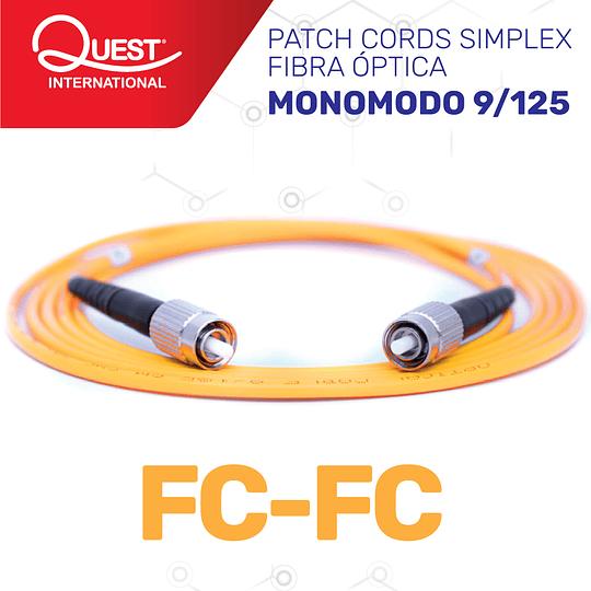 Patch Cords Simplex Monomodo 9/125 FC/FC
