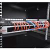 Panel Pasa Cables Con Cepillo de 1U