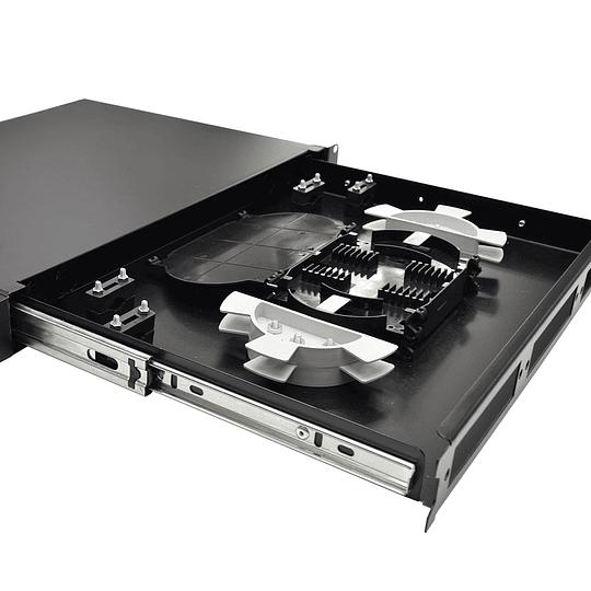 Bandeja Modular para Conexiones de Fibra Óptica de 1U