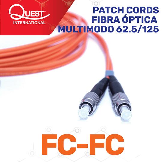 Patch Cords Duplex  Multimodo 62 / 125 FC-FC