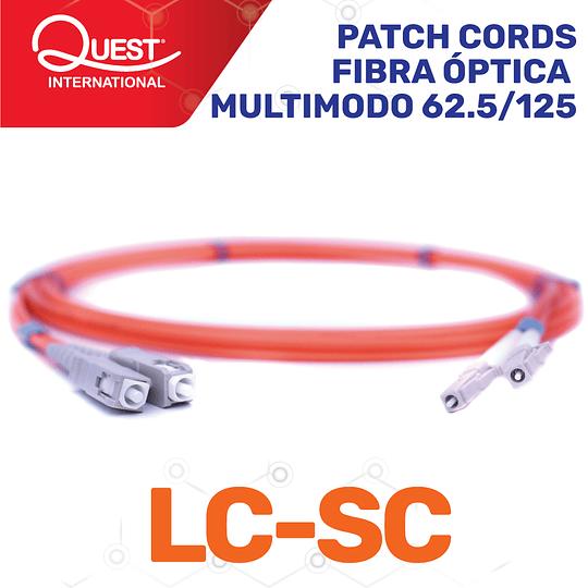 Patch Cords Duplex Multimodo 62 / 125 LC -SC