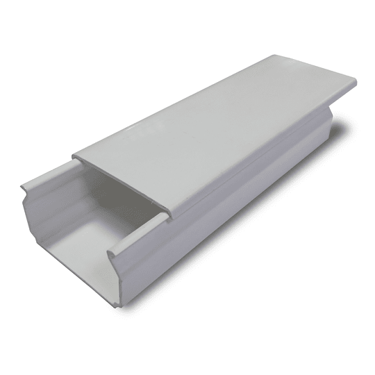 Canaleta Plástica 40 x 22 mm sin división