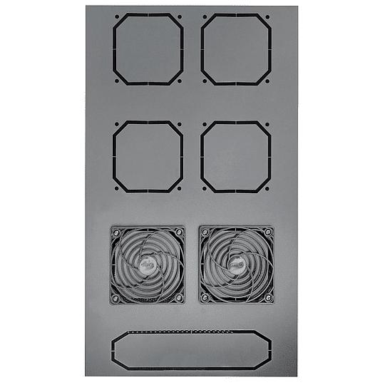 Gabinetes de Piso 42U   Ancho: 600 mm • Fondo: 1,200 mm