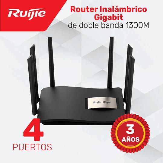 Router Inalámbrico para Hogar Gigabit de doble banda 1300M