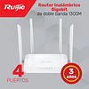 Router Inalámbrico para Hogar Megabit de Banda Dual de 1200M