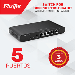 Router de 5 puertos Gigabit • Administrable en la Nube
