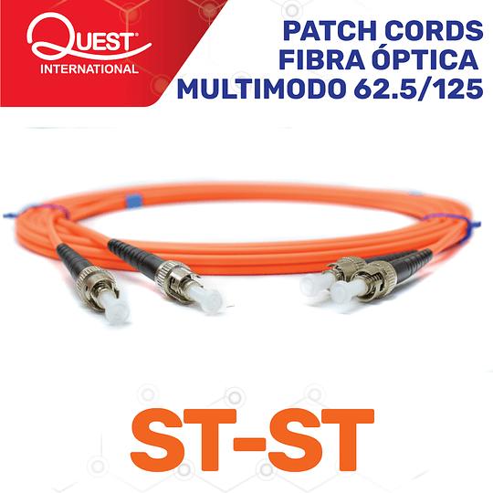 Patch Cords Duplex  Multimodo 62 / 125 ST-ST