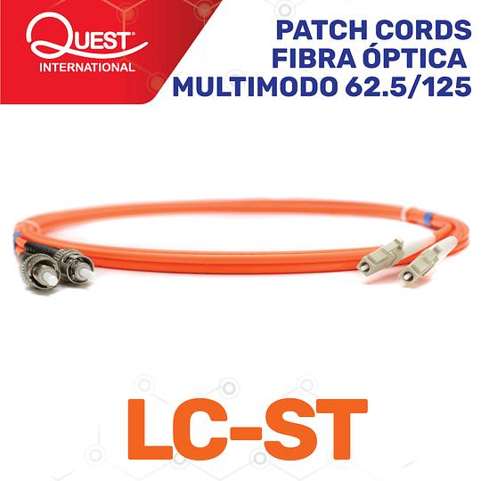 Patch Cords Duplex  Multimodo 62 / 125 LC-ST