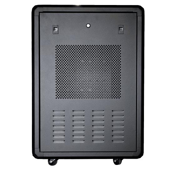 Gabinetes de Piso 20U | Ancho: 580 mm • Fondo: 610 mm | Puerta Frontal en Vidrio de Seguridad