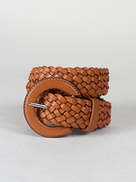 BRAIDED BELT- LINED BUCKLE