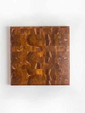 TABLA COCINERO TECA (40 X 40 CM)