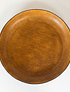 OVAL LEATHER PLATE