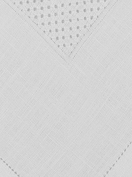 DIAGONAL OPENWORK TRAY CLOTH