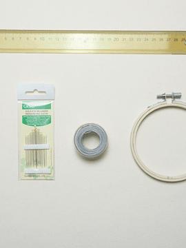 Kit de herramientas ilustración en punto matiz