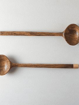RIBBED SPOONS