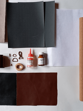 Casual Leather Bag Material Kit