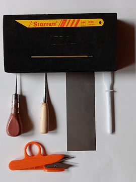Casual Leather Bag Tool Kit