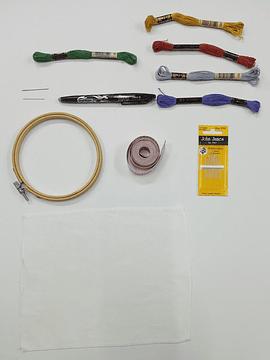 kit de materiales: Flores Nativas