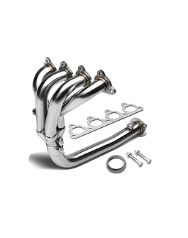 H-GEAR STAINLESS STEEL MANIFOLD 4-1 (D-SERIE ENGINES)