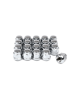 OEM HONDA WHEEL NUTS 20-PIECE (CLOSED END) M12X1.5MM (ROUND CONICAL)