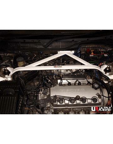 ULTRA RACING 3 POINT STRUT BAR FRONT/UPPER (CIVIC/DEL SOL/INTEGRA)