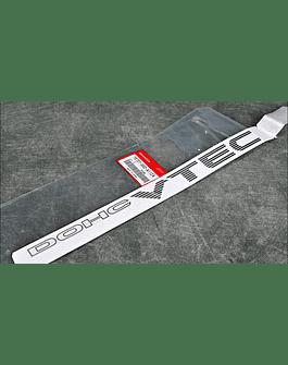 OEM HONDA ''DOHC VTEC'' GREY STICKER