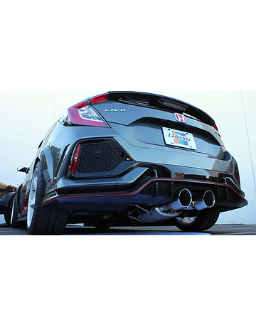 GREDDY SUPREME EXHAUST SYSTEM STAINLESS STEEL 76MM (CIVIC 2017+ TYPE R FK8)