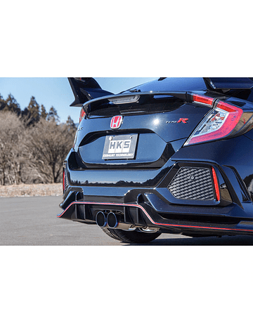 HKS LEGAMAX EXHAUST HONDA CIVIC TYPE R FK8 17+