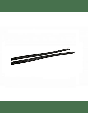MAXTON DESIGN SIDE SKIRTS SPLITTER GLOSS BLACK (CR-Z 10-14)