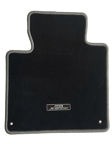 OEM HONDA FLOOR MAT SET BLACK/GREY (S2000 99-09)