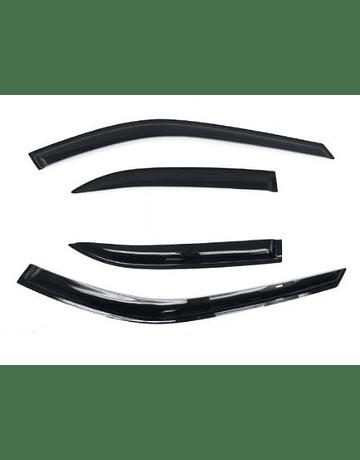 H-GEAR DOOR WINDOW VISORS (CIVIC 88-91 4DRS)