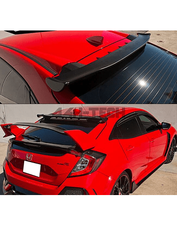 H-GEAR ABS PLASTIC ROOF SPOILER SPOON STYLE (CIVIC 2017+ FK6/FK7/FK8)