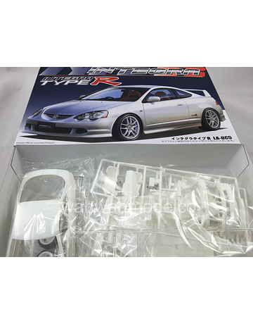 Fujimi 1:24 Scale Honda Integra DC5 Type R Model Kit #627P With Tamiya Glue