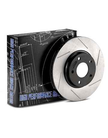 STOPTECH GROOVED BRAKE DISCS FRONT (S2000 99-09