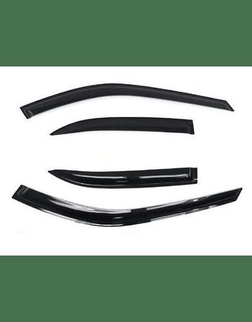 H-GEAR DOOR WINDOW VISORS (CIVIC 92-95 4DRS)