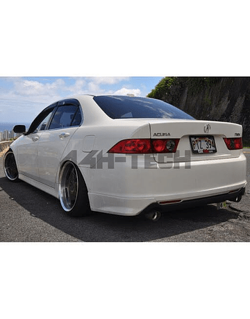 H-GEAR BUMPERLIP REAR POLYESTER A-SPEC STYLE (ACCORD 05-07)