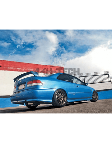PU DESIGN LIP/SKIRTS MUGEN STYLE REAR (CIVIC 99-00 2/4DRS)