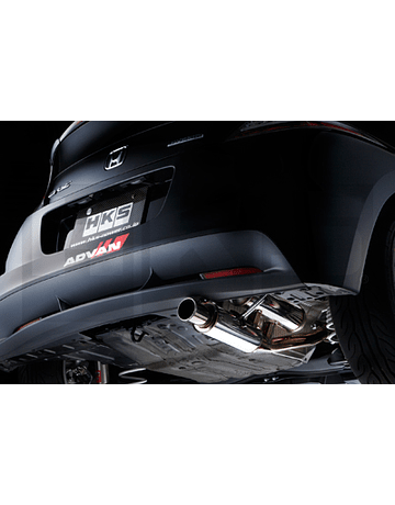 HKS HI-POWER STAINLESS STEEL EXHAUST SYSTEM (CR-Z 10-14)