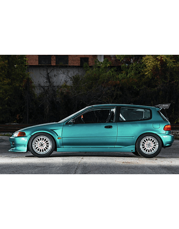 CHARGESPEED SIDESKIRTS (CIVIC 92-95 3DRS)