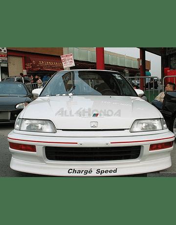 Chargespeed FRP bumperlip type Kouki front (Civic 88-91 VTEC)